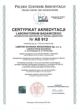 AB 912 - Lemitor