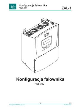 Konfiguracja falownika