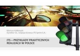 System ITS w Olsztynie
