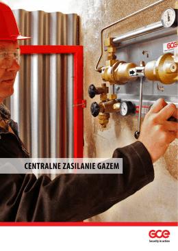 centralne zasilanie gazem