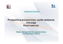 dr hab. n. med. Wojciech Korlacki