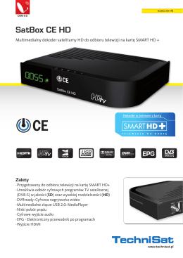 SatBox CE HD