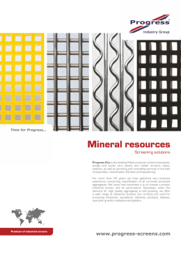 Mineral resources Mine