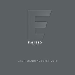 Katalog 2015 - Producent oświetlenia EMIBIG