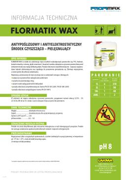 FLORMATIK WAX