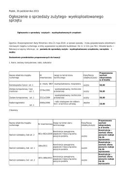 Generuj PDF - Ośrodek Sportu i Rekreacji