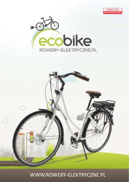 Pobierz katalog EcoBike 2015 - Rowery Elektryczne, Sklep