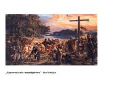 """""""Zaprowadzenie chrześcijaństwa"""""""