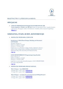 Biuletyn do pobrania w pdf - Centrum Transferu Technologii Morskich