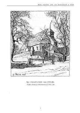 Rys. 1. Kościół w Ochli
