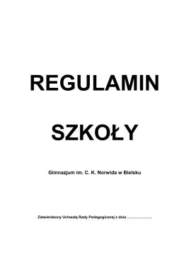 Gimnazjum im. C. K. Norwida w Bielsku