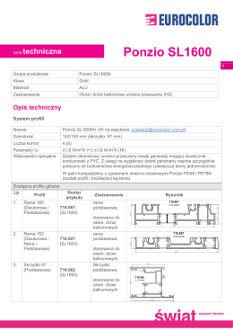 Ponzio SL1600 - Euro