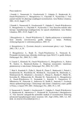 Literatura naukowa (Pobierz wykaz literatury)