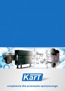 Katalog – urządzenia dla przemysłu spożywczego