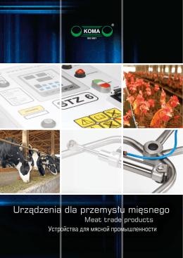 Urządzenia dla przemysłu mięsnego