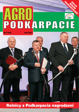 Luty 2015 - Podkarpacka Izba Rolnicza