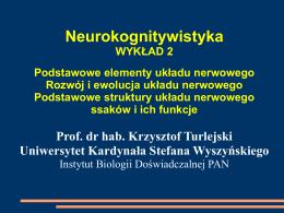 Wykład 2 - wbns.uksw.edu.pl