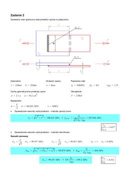 Przykład obliczeniowy 2