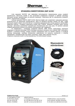 Spawarka inwertorowa DIGITIG 206P AC/DC