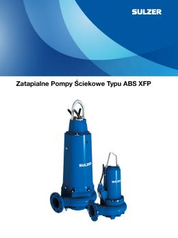 Zatapialne Pompy Ściekowe Typu ABS XFP