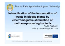 Ryzhkov Andriy - Tavria State Agrotechnological University, UKRAINE
