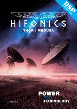 HiFonics DSP