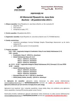 Komunikat zawodów (plik PDF).