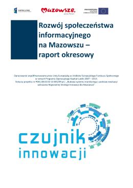 Rozwój społeczeństwa informacyjnego na Mazowszu