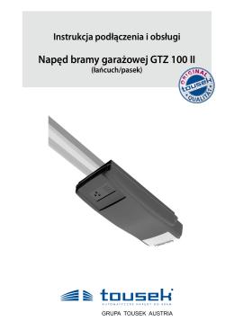 Napęd bramy garażowej GTZ 100 II
