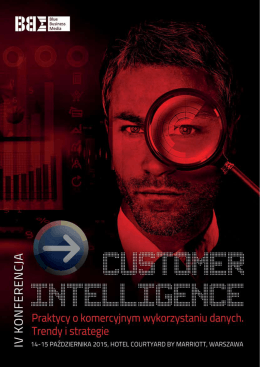 2795 zł - VII Forum Intelligence in Business