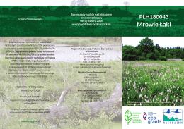 Mrowle Łąki - Regionalna Dyrekcja Ochrony Środowiska w Rzeszowie