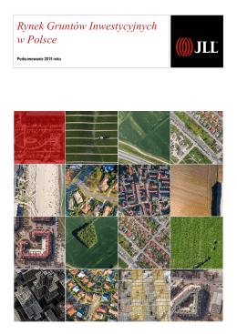 Rynek gruntów inwestycyjnych w Polsce