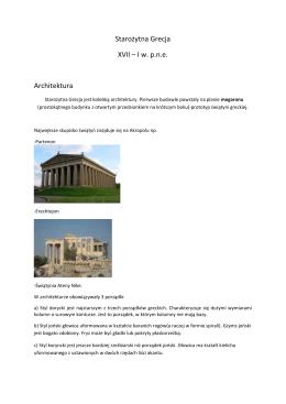 Sztuka starożytnej Grecji i Rzymu