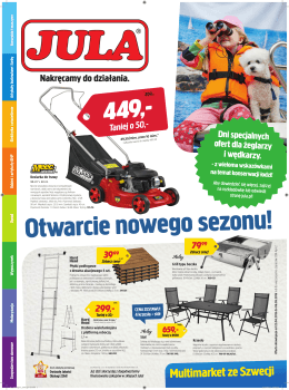 Nowa gazetka Jula - Europa Centralna