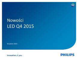 LED Q4 2015 - Alfa Elektro