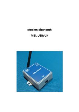 Modem Bluetooth MBL-USB/UK - uk