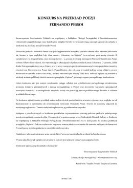 szczegółowy regulamin wraz z utworami konkursowymi