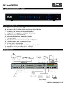 BCS-V-AVR1602M
