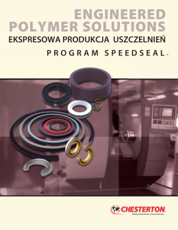 engineered polymer solutions - Chesterton International Polska sp. z