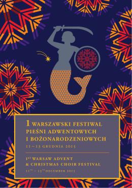 1warszawski festiwal pieśni adwentowych i bożonarodzeniowych