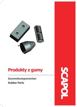 Produkty z gumy
