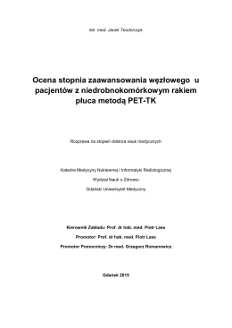 J. Teodorczyk – Streszczenie pracy doktorskiej