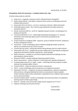 Zduńska Wola, 14.10.2015 8 kompletów: Starter