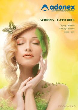 Katalog Wiosna/Lato 2016
