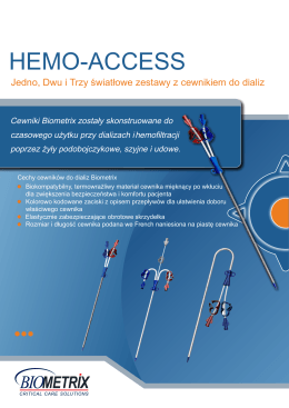 HEMO-ACCESS - billmed.pl