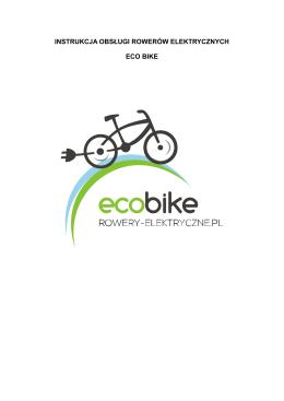 Instrukcja obslugi roweru - Rowery Elektryczne, Sklep
