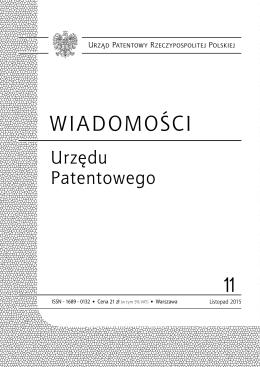 wup11_2015 - Wyszukiwarka Urzędu Patentowego