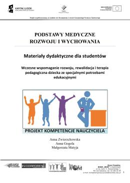 podstawy medyczne rozwoju i wychowania