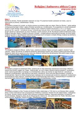 Religijne i kulturowe oblicza Cypru