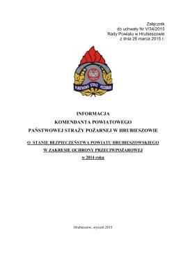 Załącznik - Biuletyn Informacji Publicznej, Starostwo Powiatowe w